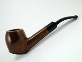 Old West Briar - Bent Billiard by Tim West (0061)