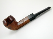 Old West Briar-Straight Bulldog by Tim West (0056)