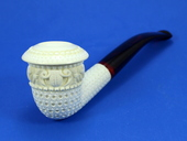 SMS Premium - Half-Bent CALABASH Deluxe - Lattice